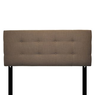 8-button Tufted Carlsbad Brownstone Headboard