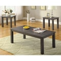Furniture of America 'Cinder' 3-piece Grey Contemporary Coffee/ End Table Set