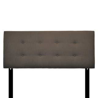 Berber Charcoal 8-button Tufted Headboard