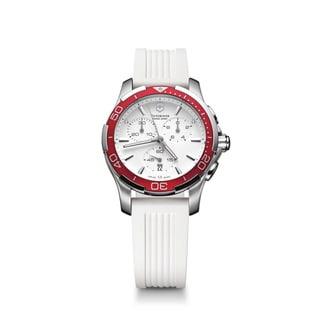 Victorinox Women's Chronograph White Dial Watch