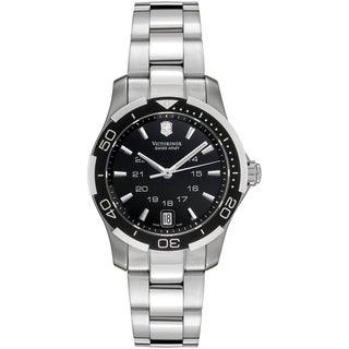 Victorinox Women's 'Sport Lady' Black Dial Watch