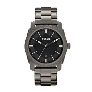 Fossil Men's FS4774 Machine Round Grey Bracelet Watch