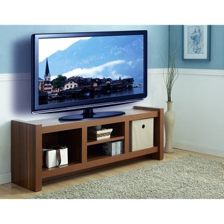Furniture of America 'Veiah Blake' Light Walnut 60-inch TV Console Stand