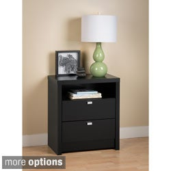 Valhalla Designer Series Tall 2-drawer Nightstand
