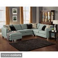 Furniture of America 'Zeal Lavish' Contemporary 3-piece Fabric Upholstered Sectional