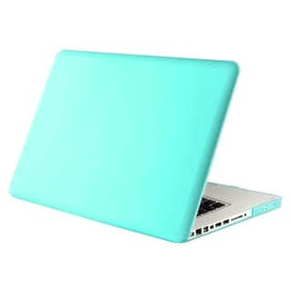 BasAcc Blue Snap-on Rubber Case for Apple MacBook Pro 13-inch