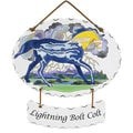 Joan Baker 'Lightning Bolt Colt' Suncatcher