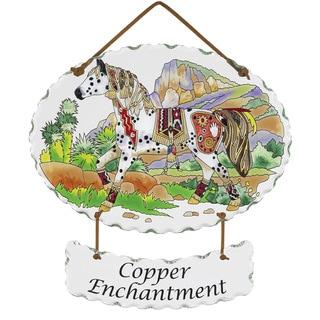 Joan Baker 'Copper Enchantment' Suncatcher