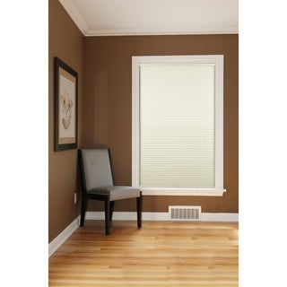 Honeycomb Ivory Cell Blackout Cordless Cellular Shades
