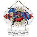 Joan Baker 'Sounds of Thunder' Suncatcher