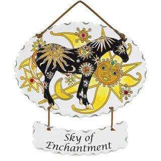 Joan Baker 'Sky of Enchantment' Suncatcher