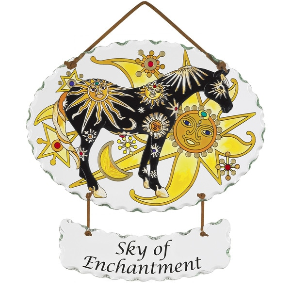 Joan Baker 'Sky of Enchantment' Suncatcher