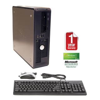Dell OptiPlex GX620 3.2GHz 2GB 160GB Win 7 Small Form Factor Computer (Refurbished)