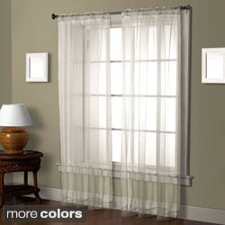 Cedar Front Sheer 84-inch Curtain Panel