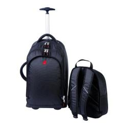 Athalon Wheeling Backpack Black