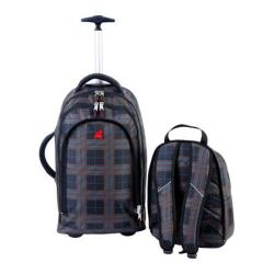 Athalon Wheeling Backpack Plaid