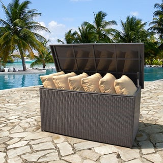Outdoor Cushion Storage Seat Box