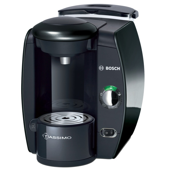 Bosch Tassimo T10 Beverage System and Coffee Brewer with Gevalia Coffee Case