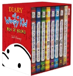 Diary of a Wimpy Kid Box of Books: Includes Books 1-7, the Do-it-yourself Book & Journal (Hardcover)