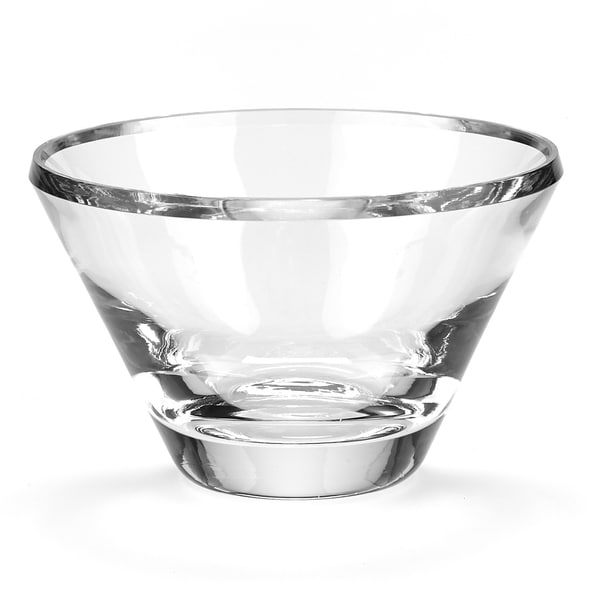 Trillion European Mouth Blown Lead Free Crystal Bowl
