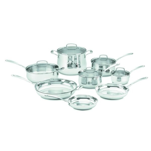 Cuisinart Classic Stainless 14-piece Cookware Set