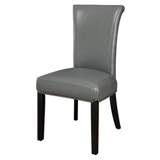 Set of 2 Dexter Bi-cast Leather Parson Chair