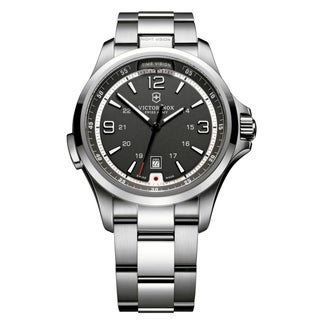 Victorinox Swiss Army Men's 'Night Vision' Stainless Steel Watch