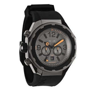 Nixon Men's 'Steelcat' Grey Chronograph Watch