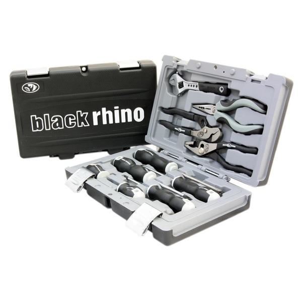 11-piece Driver, Plier and Wrench Kit