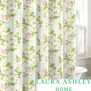 Laura Ashley Carlisle Cotton Shower Curtain
