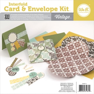 Interfold Card & Envelope Pads-Vintage