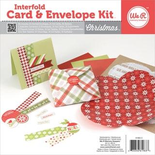 Interfold Card & Envelope Pads-Christmas