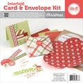 Interfold Card & Envelope Pads-Christmas