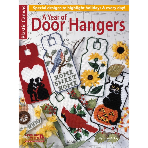 Leisure Arts-A Year Of Door Hangers