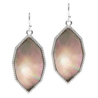 La Preciosa Sterling Silver Mother of Pearl Earrings