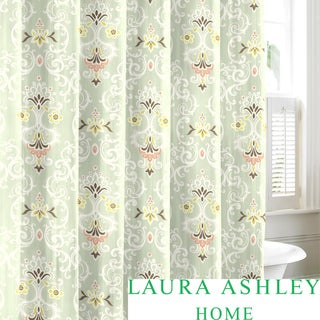 Laura Ashley Sheffield Cotton Shower Curtain