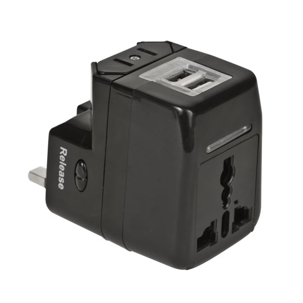 Travelon Dual USB Charger and Adapte