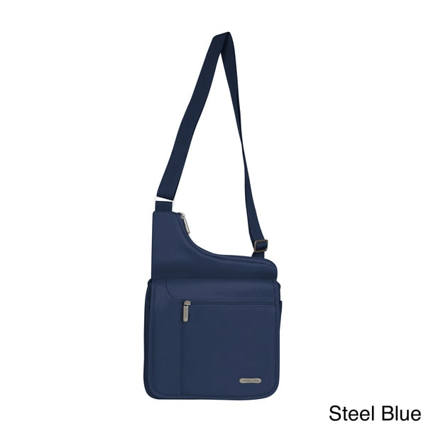Travelon Large Messenger Style Shoulder Bag