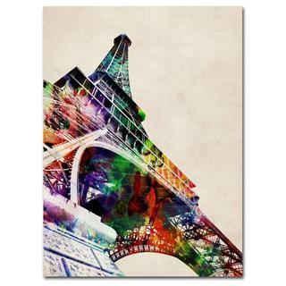 Michael Tompsett 'Eiffel Tower' Canvas Art