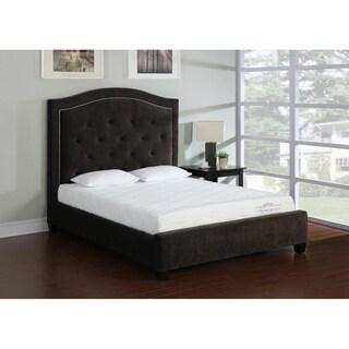 Storm Wood Slat California King-size Platform Bed