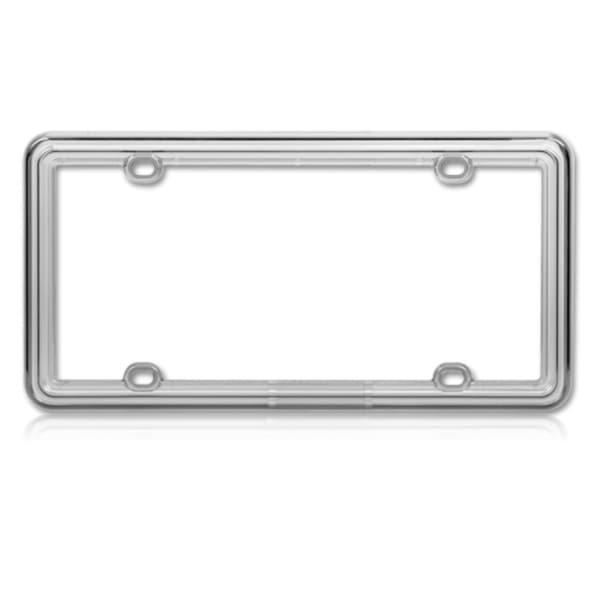 INSTEN T-Smoke Plastic License Plate Frame