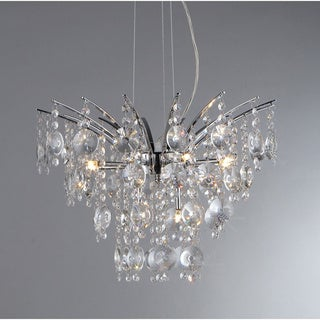 Artemis Chrome Nine-Light Chandelier