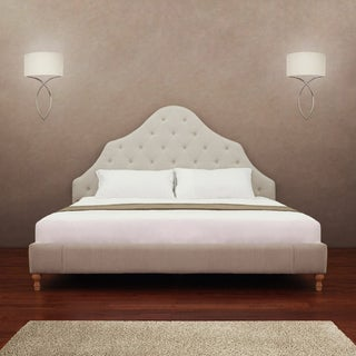 Alice Button-tufted King-size Bed