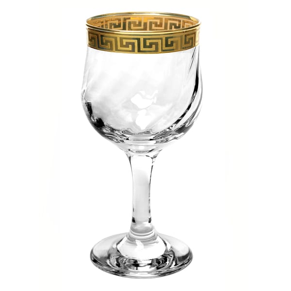 Lorren Home Trends Florence Red Wine or Water Glasses (Set of 4) 11329554