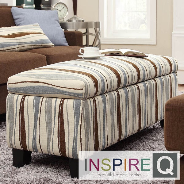 Inspire Sauganash Vertical Wavy Stripe Lift Top