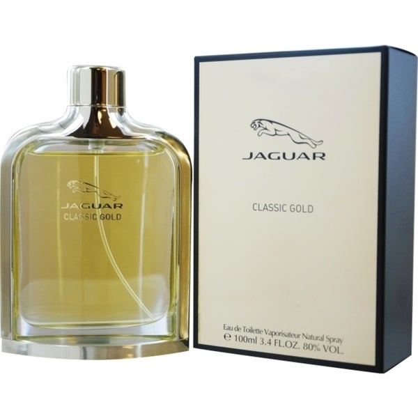 Jaguar Classic Gold Men's 3.4-ounce Eau de Toilette Spray