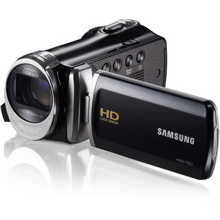 Samsung HMX-F90 High Definition Black Camcorder
