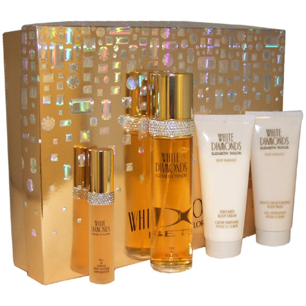 Elizabeth Taylor White Diamonds 4-piece Fragrance Gift Set
