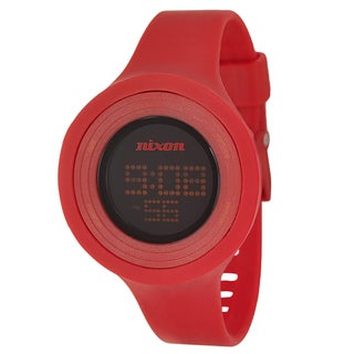Nixon Women's 'The Widgi' Red Digital Watch