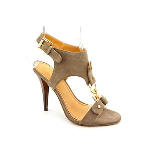 Nine West Women's 'Bezel' Gray Nubuck Sandals